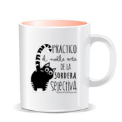"""SORDERA gato"" Taza color interior"